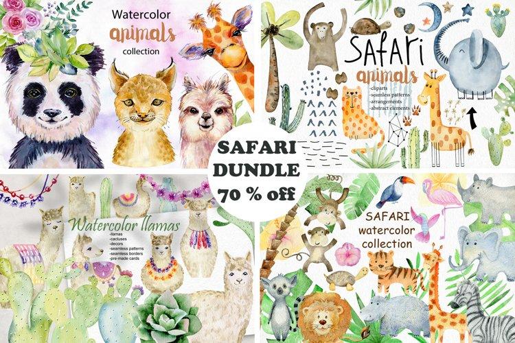 70 off. Bundle. Safari animals. example image 1