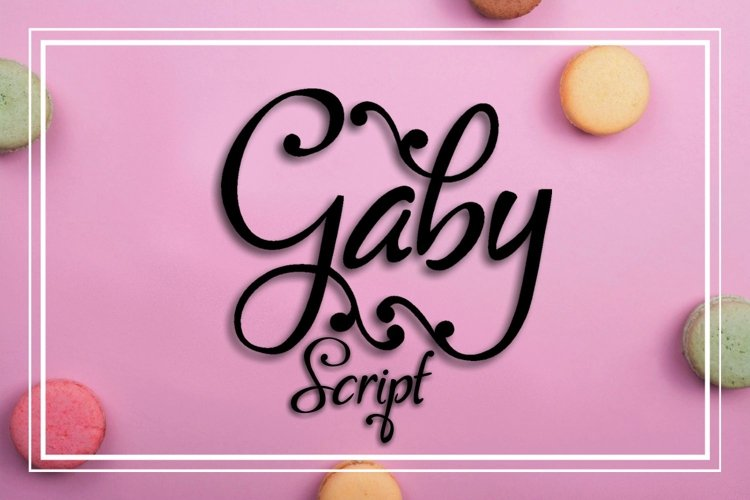 Gaby Font example image 1