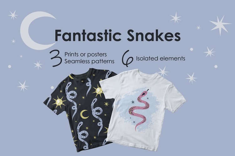 Fantastic Snakes example image 1