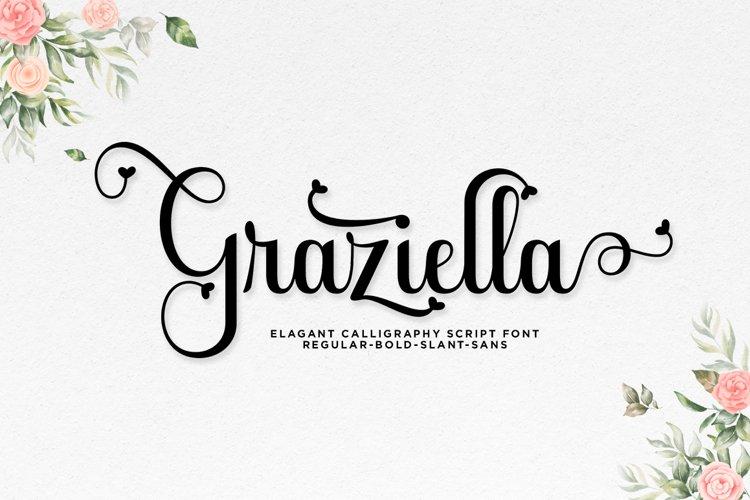Graziella Script example image 1