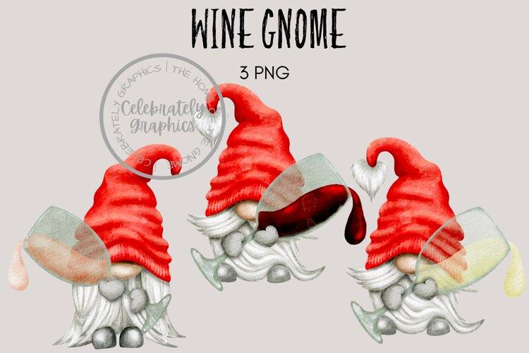 Wine Gnome Clipart