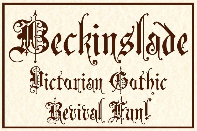 Beckinslade example image 1