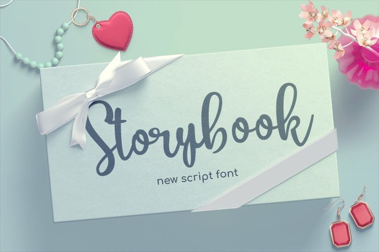 Web Font Storybook example image 1