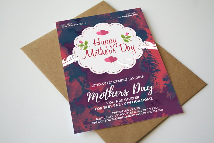 Mother's Day Invitation example image 1