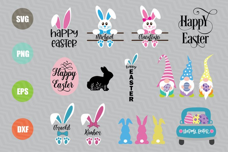 Easter SVG Bundle example image 1