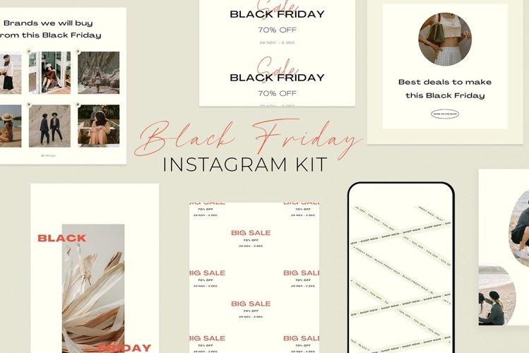 Black Friday Instagram Kit | CANVA