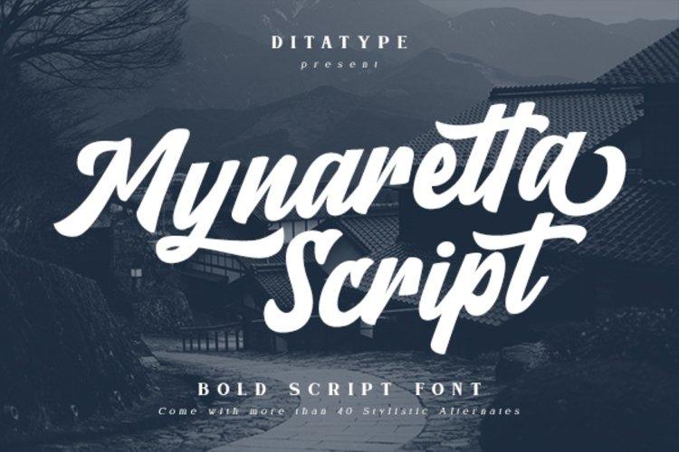 Mynaretta Script example image 1