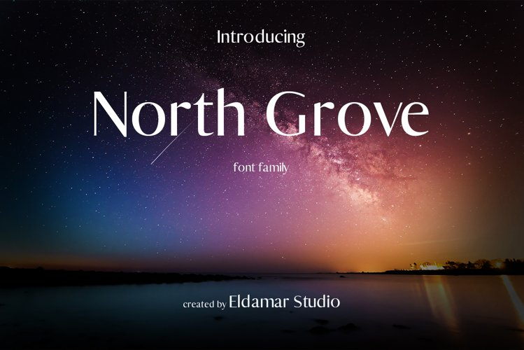 North Grove Font