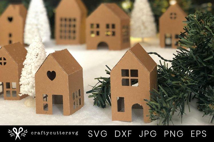 Christmas Village Svg Bundle  DIY Christmas 3D House - Free Design of The Week Design2