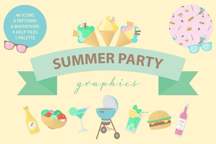 Summer Party Graphics