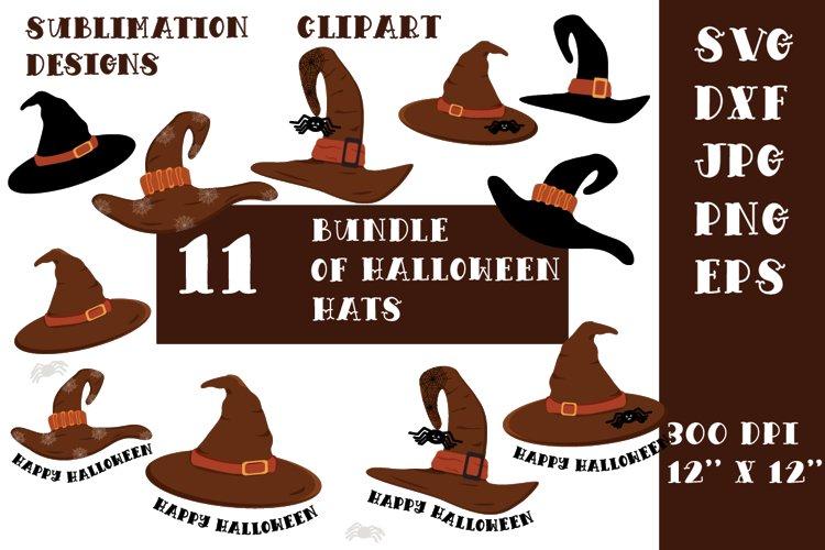 Halloween hats bundle. Halloween bundle. example image 1