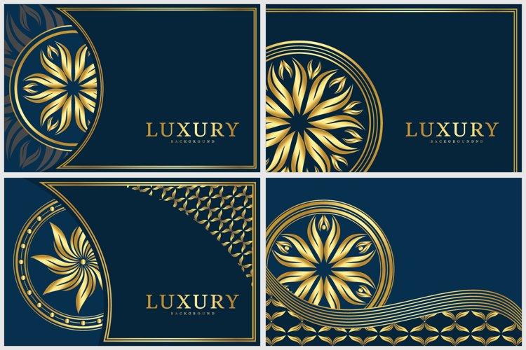 Background design of mandala example image 1