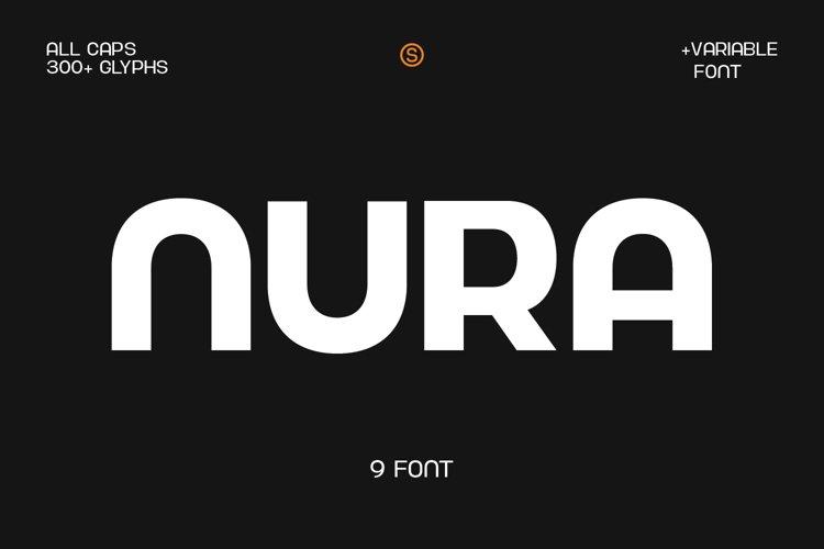 Nura - Variable Font