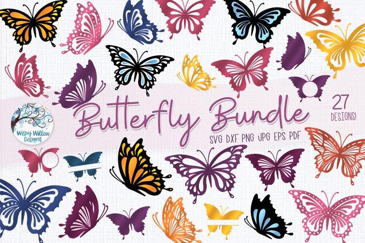 Butterfly SVG Bundle | 27 Butterfly SVGs