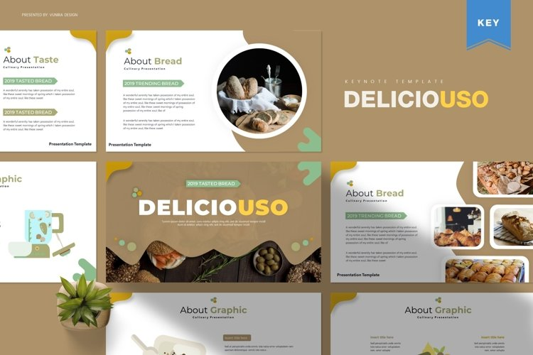Deliciousi | Powerpoint, Keynote, Google Slides Template example image 1