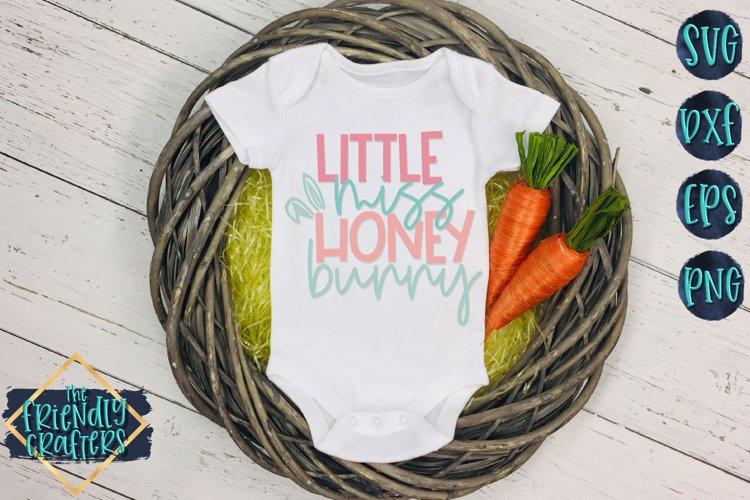 Little Miss Honey Bunny - An Easter Cut File