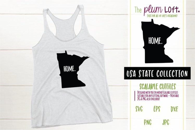 Minnesota Home - SVG design example image 1