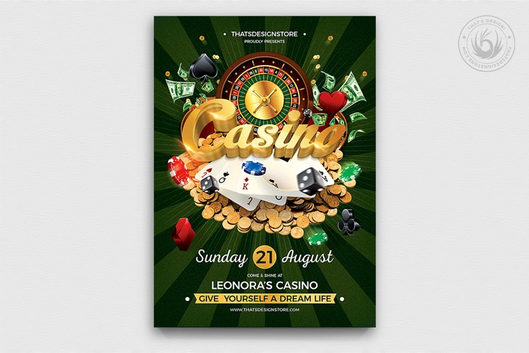 Casino Flyer Template V1