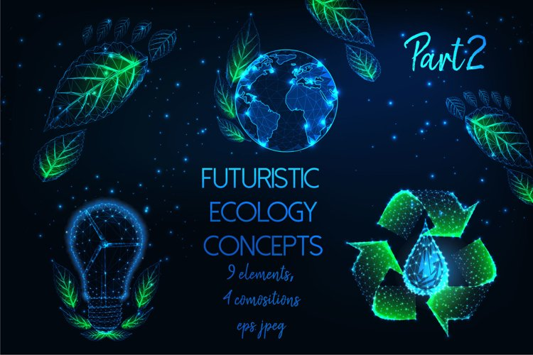 Futuristic ecology concepts, Part2. example image 1