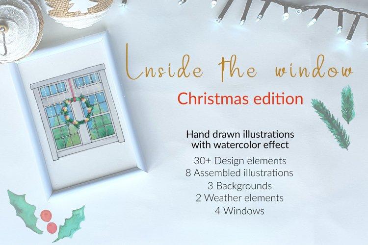 Inside the window - christmas edition