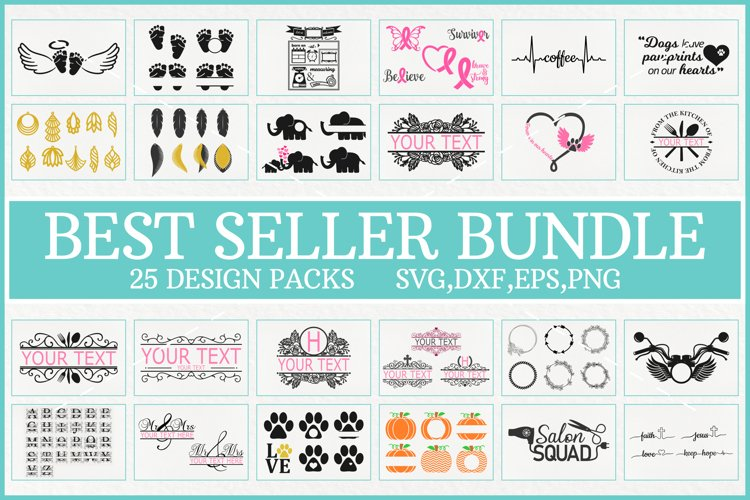 Best Seller Bundle, Best Seller Svg Bundle, Best Vector File