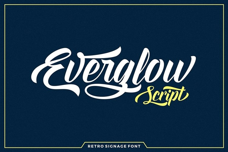 Everglow Script example image 1