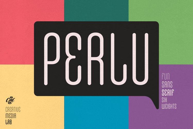 Perlu - Fun & Casual sans serif example image 1