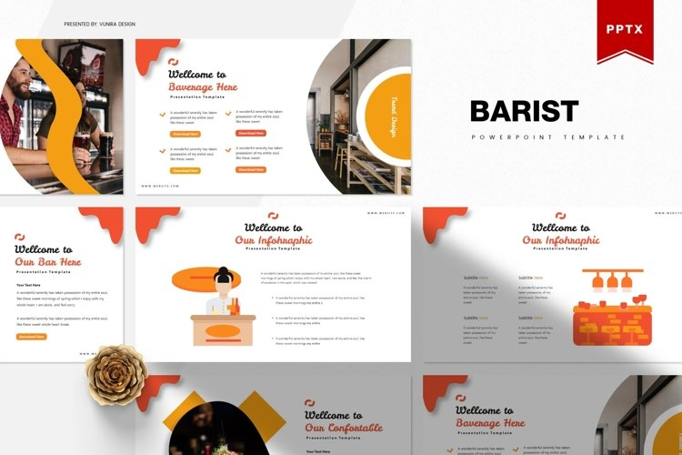 Barist | Powerpoint, Keynote, Google Slides Template example image 1