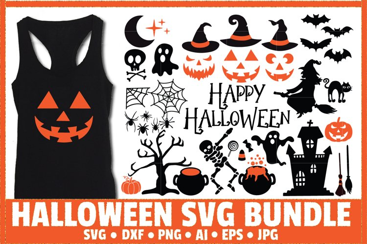 Halloween Bundle SVG Cut File