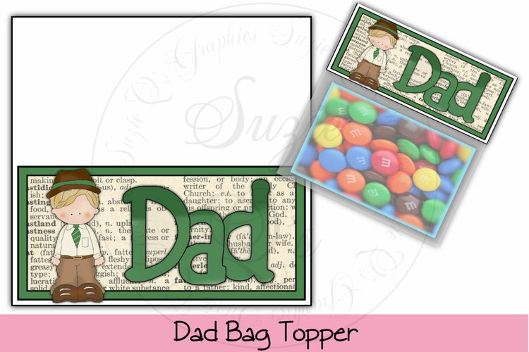 Dad Bag Topper example image 1