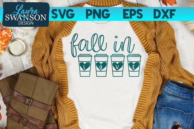 Fall in Love SVG Cut File