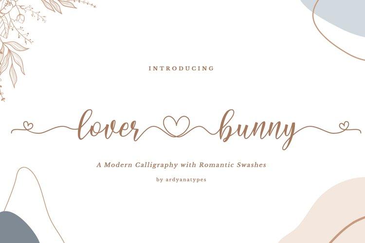 Lover Bunny