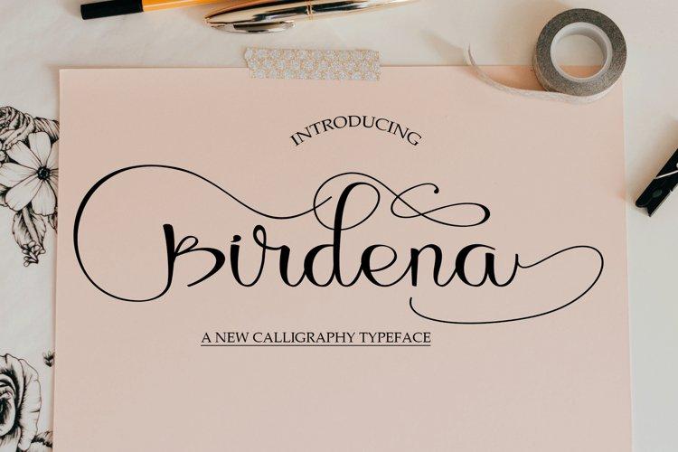 Birdena Script example image 1