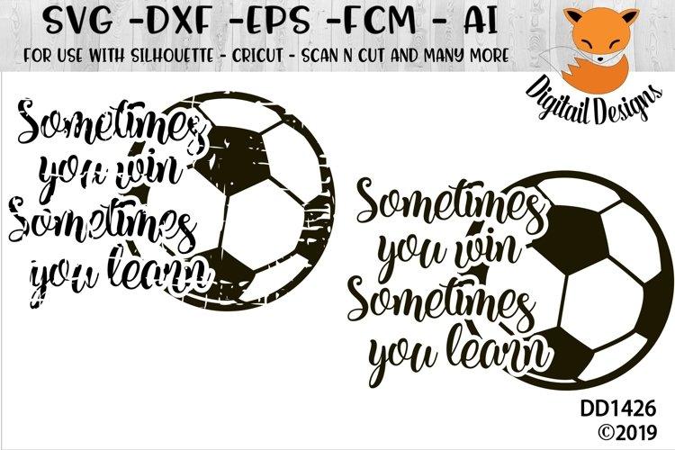Motivational Soccer SVG