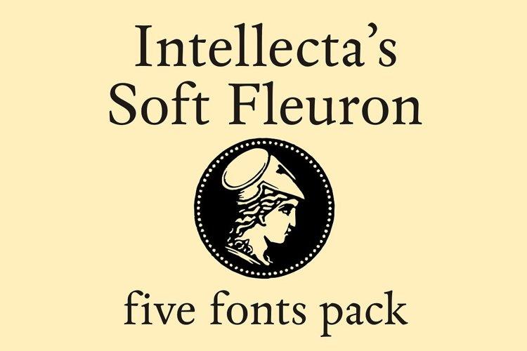Soft Fleurons Pack - five fonts