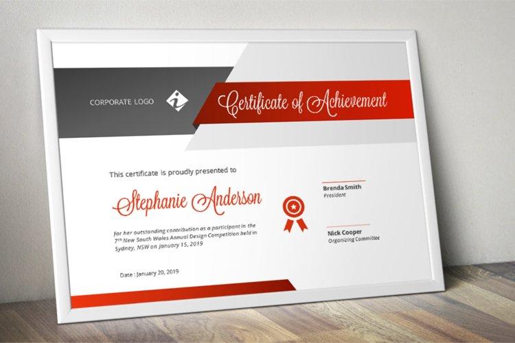 Unique Modern Word Event Certificate Template