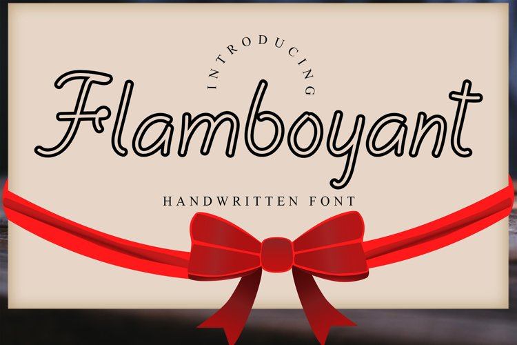 Flamboyant example image 1