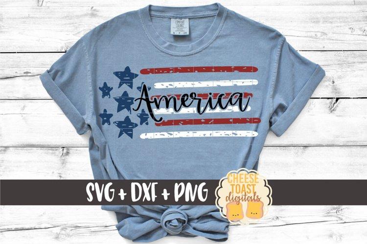 America SVG | Distressed United States Flag
