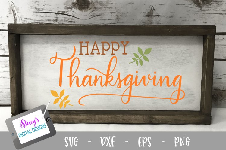 Thanksgiving SVG - Happy Thanksgiving example 2