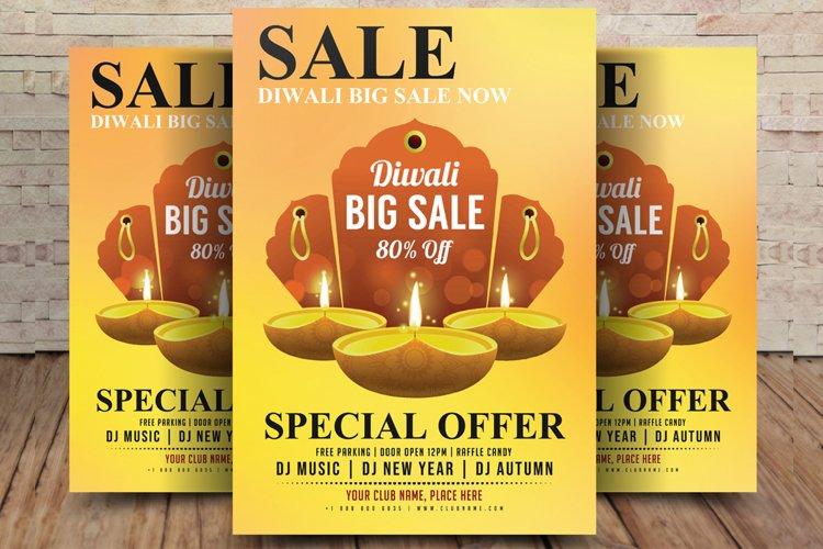 Diwali Sale Flyer example image 1
