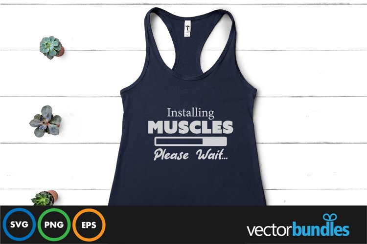 Installing muscles quote svg example image 1