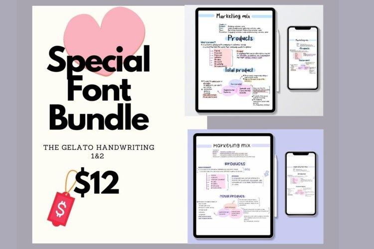 This Special Font bundle example image 1