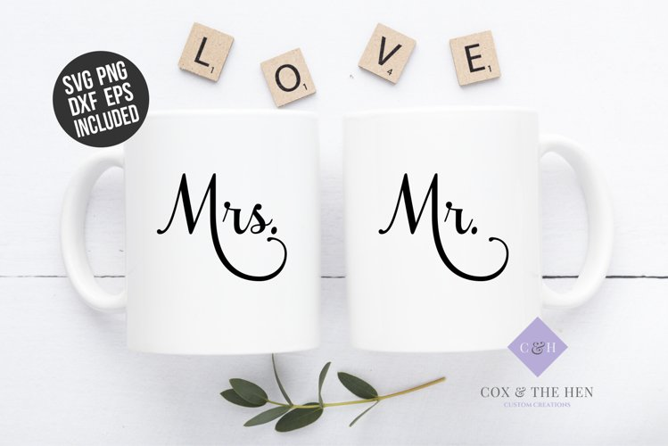 Mr Mrs SVG - Wedding Svg example image 1
