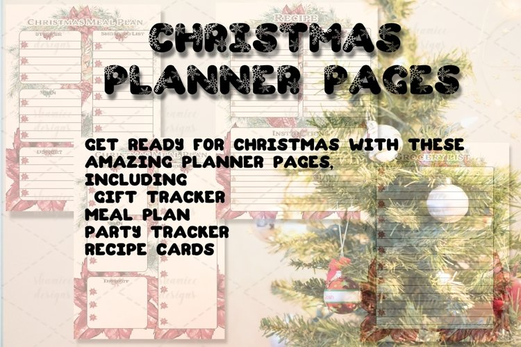 Christmas Planner Pages example image 1