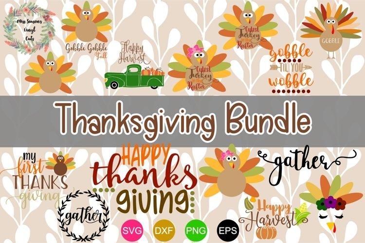 Thanksgiving Bundle SVG, Dxf, Eps,Png 14 designs