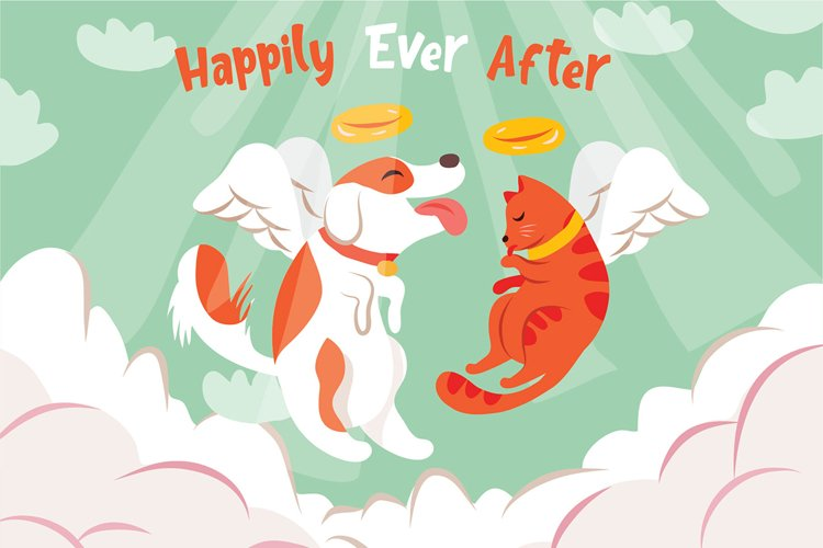 Happily Ever After - Vector Illustration example image 1