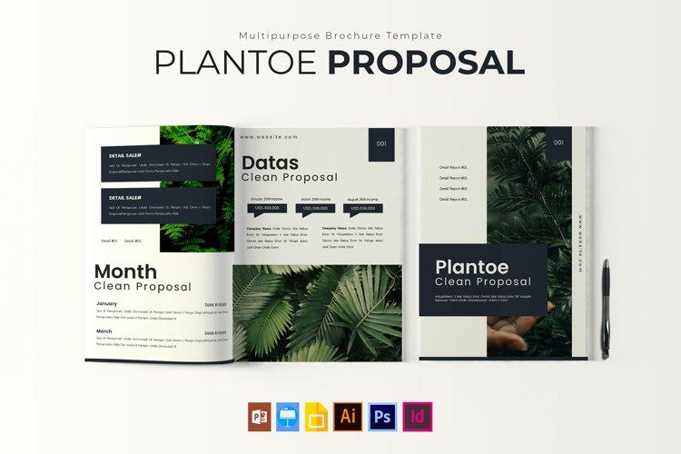 Plantoe | Porposal Template example image 1