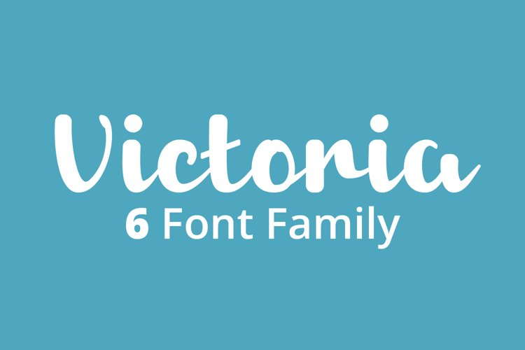 Victoria 6 Font Family