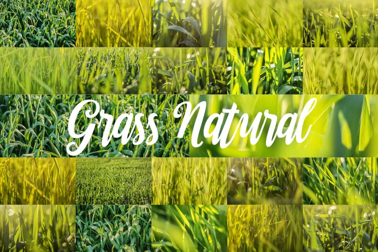 88 HD Grass Backgrounds Set example 1