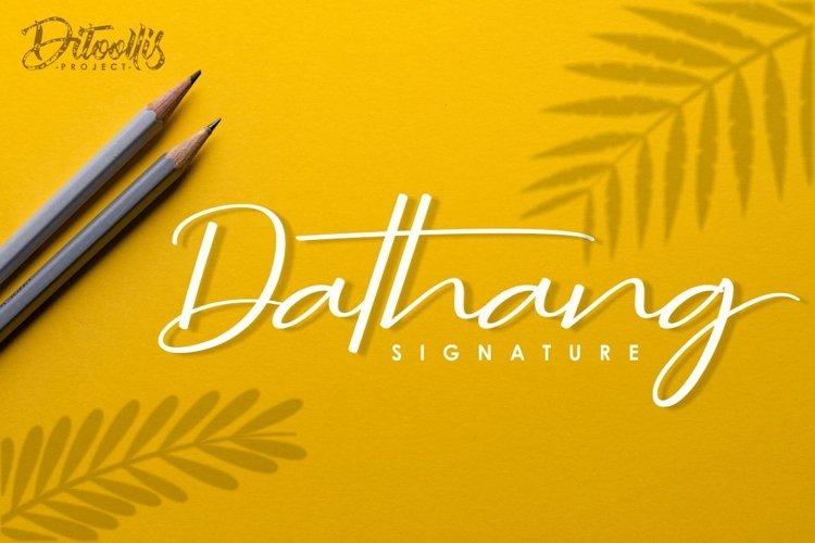 Dathang Signature example image 1